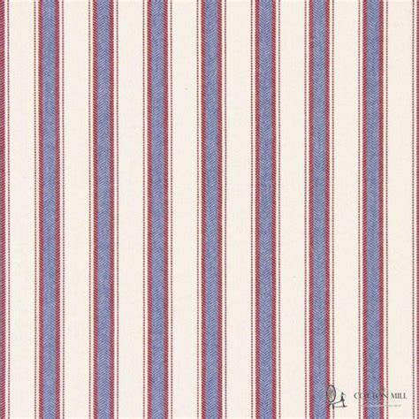 kingsley nautical striped upholstery weight curtain fabric