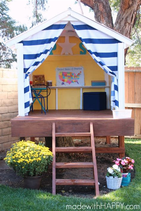 Backyard Dollhouse by 15 Pimped Out Playhouses Your Need In The Backyard