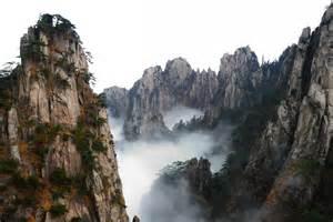 China Yellow Mountain Steps