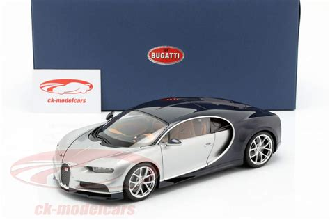 Price details, trims, and specs overview, interior features, exterior design, mpg and mileage capacity, dimensions. AUTOart 1:18 Bugatti Chiron Baujahr 2017 silber / atlantic ...