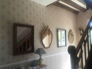 renovation d39une maison en papier peint steve robert With commentaire peindre une cage d escalier 12 renovation dune maison en papier peint steve robert
