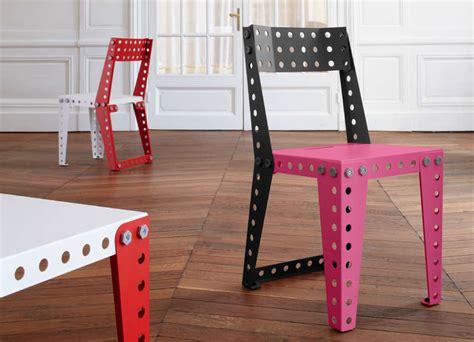 comment monter une chaise de bureau meccano home un meuble meccano chez vous pigsou mag