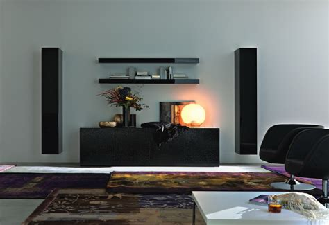 Black Living Room Wall Units by 40 Contemporary Living Room Interior Designs