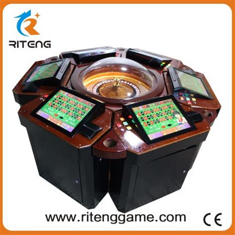 China Electronic Roulette Machine Video Roulette Table For