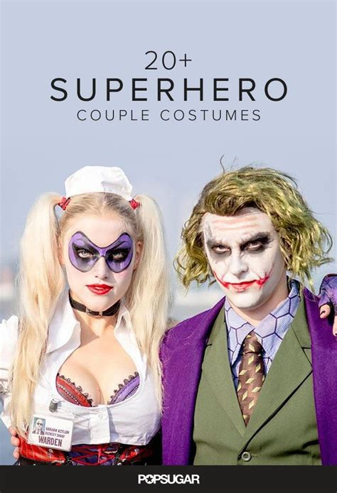 23 Kickass Comic Book Costumes For Couples Halloween