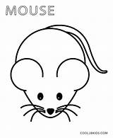 Mouse Coloring Template Pages Drawing Face Mice Preschool Minnie Easy Shinx Printable Dog Pokemon Templates Minecraft Blank Clipartmag Pattern Cool2bkids sketch template