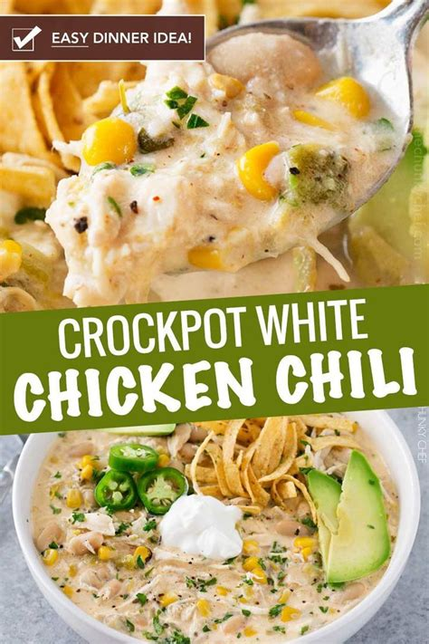 If you are not familiar with it, it's sort of the calmer, nicer cousin of a texas chili. This contest-winning crockpot white chicken chili is made ...
