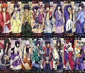 Rurouni Kenshin Characters by Narusailor on DeviantArt