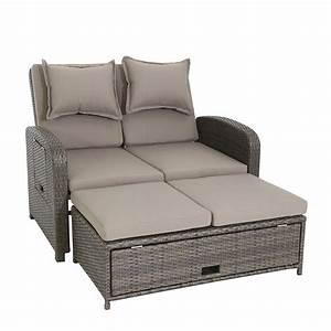 Garten Couch Lounge : rattan sofa garten ~ Indierocktalk.com Haus und Dekorationen
