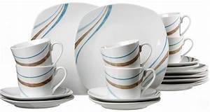 Flirt R B : flirt by r b kaffeeservice porzellan 18 teile luna ~ Watch28wear.com Haus und Dekorationen
