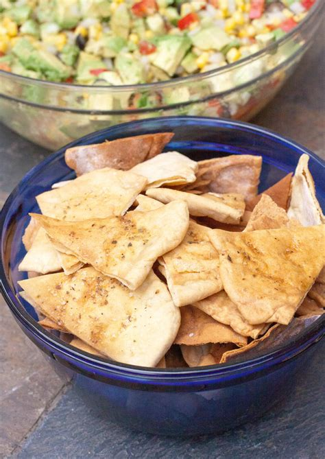 Pita Bread and Pita Chips from Scratch - Served From Scratch