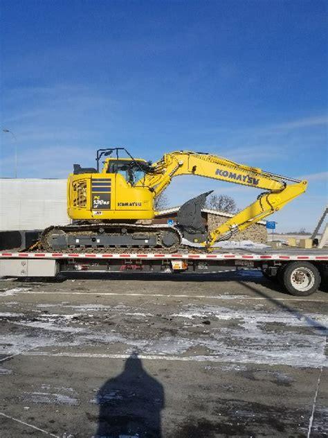 excavator transportation services heavy haulers