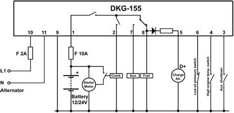 datakom dkg 155 manual start generator panel buy ats amf avr ecm dkg