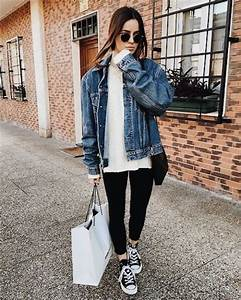 How to style your denim jacket u2013 Just Trendy Girls
