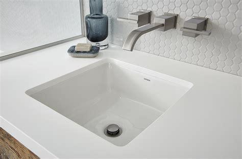 wicker park square undercounter bathroom sink gerber