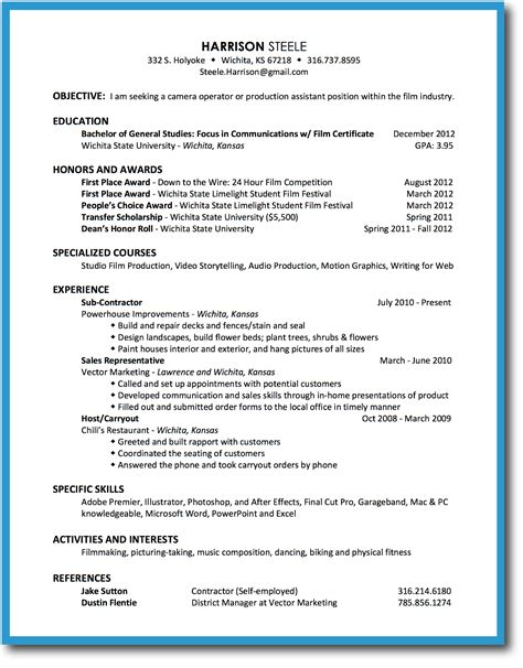 resume and resume resume for your application sle