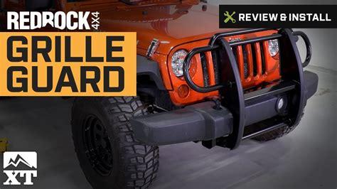 jeep wrangler   jk redrock  grille guard