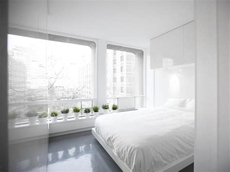 A Minimalist Modern Apartment In White by White Themed Minimalist Apartment Interior 2019 Ideas