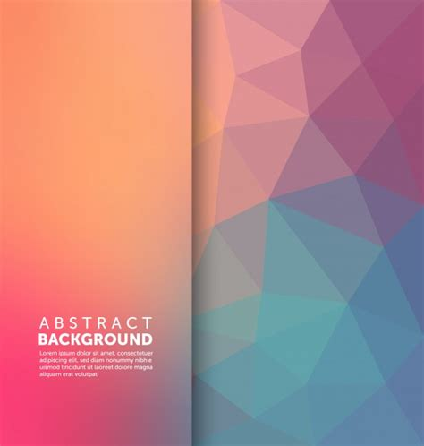 Free Template For by Abstract Background Template Vector Free