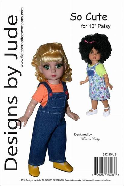 Sewing Doll Tonner Clothes Patterns Pattern Patsy