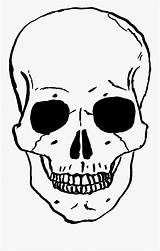 Skeleton Clipart Skull Clip Face Coloring Clipartkey sketch template