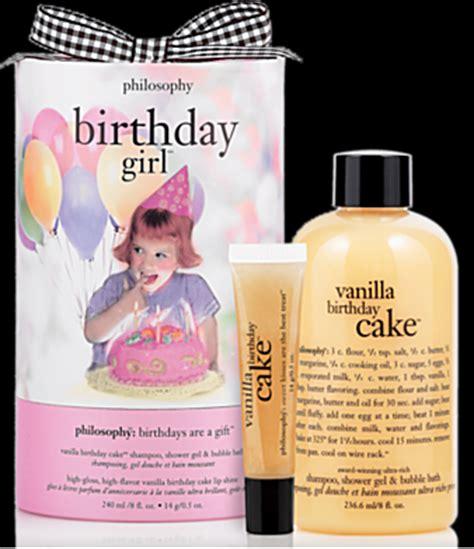 Beauty Review  Philosophy's Vanilla Birthday Cake Gift