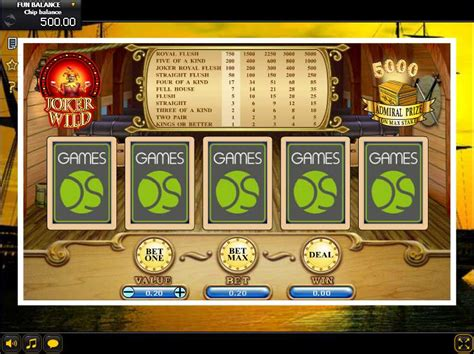 Play Joker Wild Video Poker From Gamesos For Free