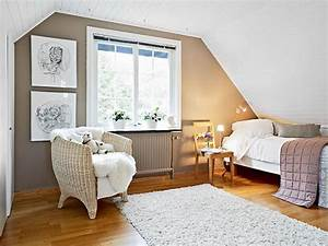 Chambre mansardee 39 idees 10 idees 2018 pour son for Chambre à coucher adulte moderne avec fenetre toiture plate