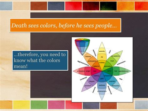 Ppt  Color Theory In The Book Thief Powerpoint
