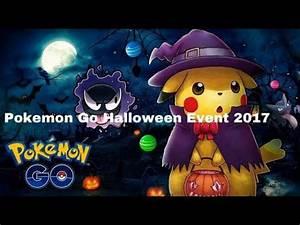 Oster Event Pokemon Go : pokemon go halloween event 2017 information youtube ~ Orissabook.com Haus und Dekorationen