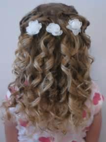 coiffure mariage fillette coiffure fillette pour mariage tendances été 2017