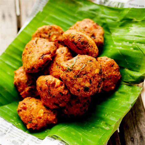 5 side dish for chapati in tamil/veg gravy varieties for cha. Masal Vadai Recipe - Moonu Paruppu Masal Vadai Recipe ...