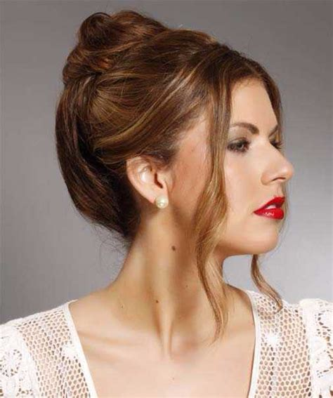 easy formal updos for straight hair hairstylesco