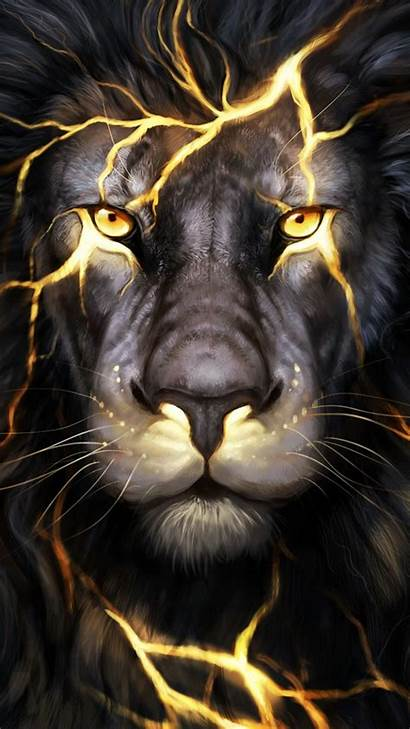 Lion Cool 3d Iphone Graphic