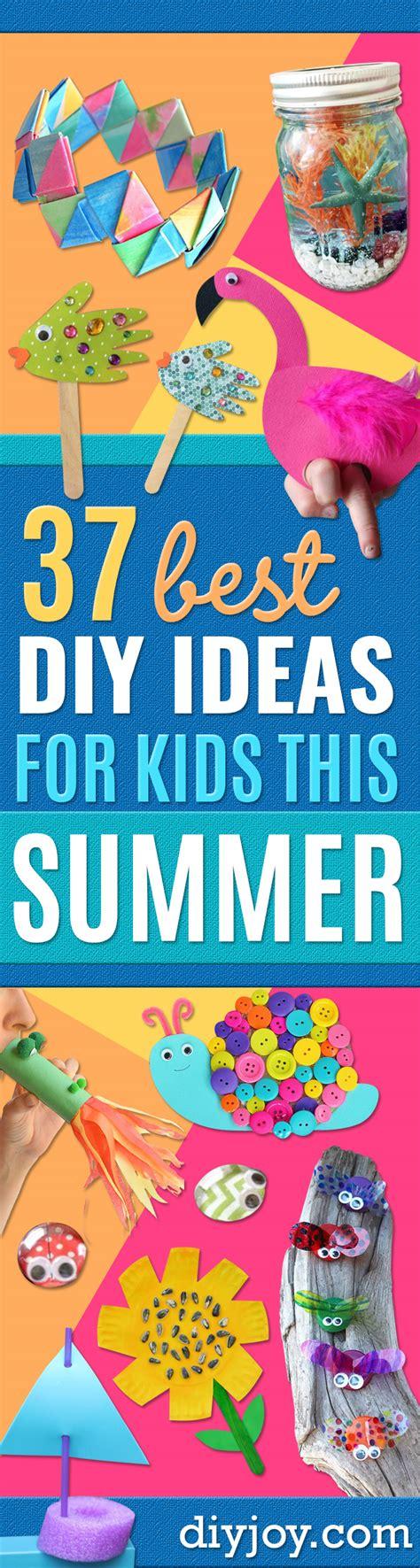 diy ideas  kids    summer