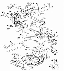Dewalt Miter Saw Parts Diagram