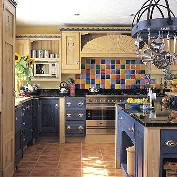 kitchen  color tile backsplash  stove love