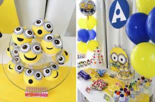 wedding cake and cupcakes kara 39 s party ideas minions themed birthday party planning