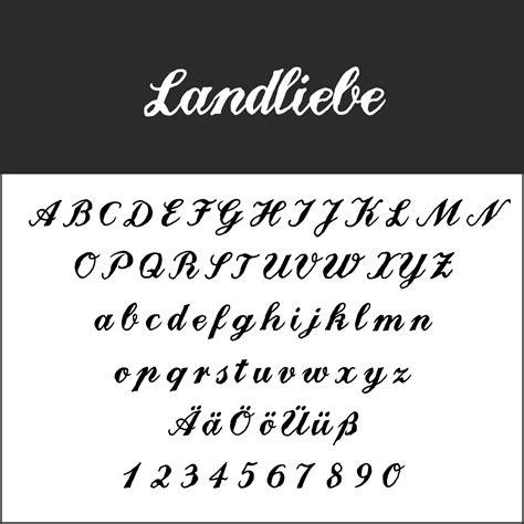 blickfang schnoerkelschrift kostenlose fonts zum