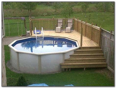 Scenic Swimming Design Small Yard Rectangular Above Ground