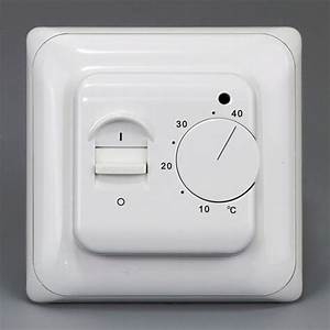 Digital Underfloor Electric Heating Manual Thermostat Room