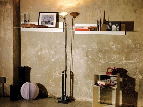 mensola acciaio mensola da parete moderna in acciaio 100 cm linea