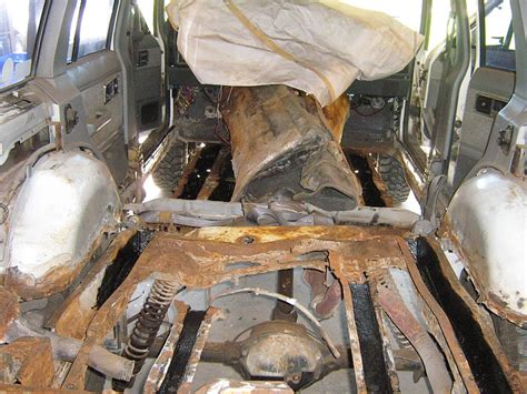 frame rust rails inside engine bay normal level control jeep cherokee paint reply cherokeeforum 1758 f67