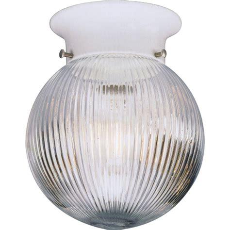 home depot globe lights progress lighting 1 light white flushmount p3599 30 the