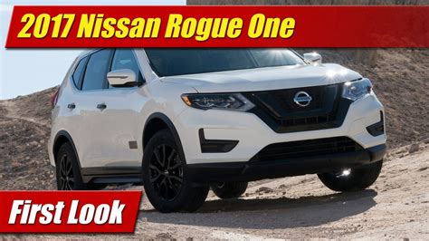 2017 nissan rogue star wars first look 2017 nissan rogue one star wars limited