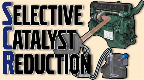 selective catalyst reduction scr system youtube