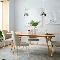 expandable dining table Mid-Century Expandable Dining Table