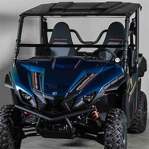 Yamaha Wolverine X2 Folding Windshield