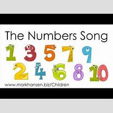 Counting Songs 110 For Children Numbers To Song Kids Kindergarten Toddlers Preschool Number