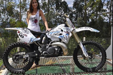 Metal Mulisha Maidens. Simone From Brazil. Moto. Dirtbikes